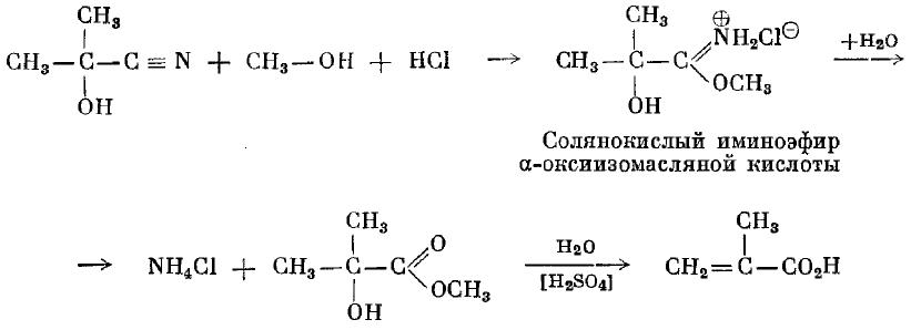 Акриловая и метакриловая