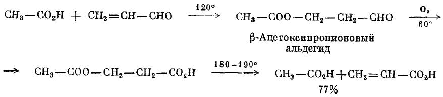 в метакриловую кислоту в